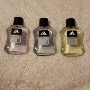 Set of 3 Adidas after shaves
